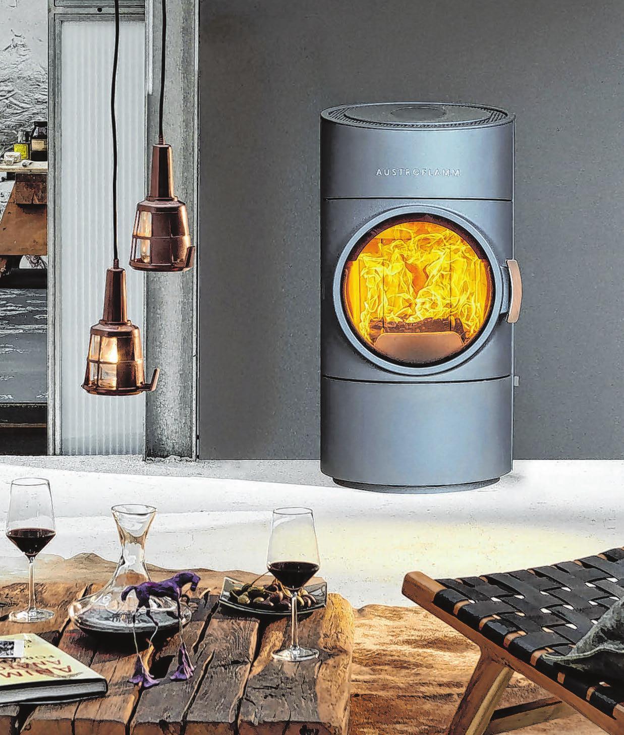 Das eigene Zuhause hat immer einen eigenen Stil: Auch bei der Ofenform sind kaum Grenzen gesetzt. Foto: djd