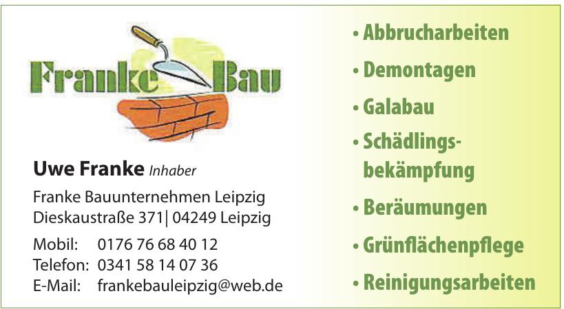 Franke Bauunternehmen Leipzig