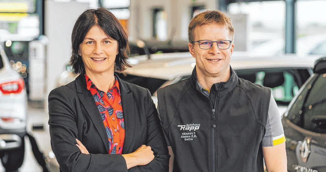 Andrea Rapp-Kübler und Jörg Rapp. FOTO: PRIVAT