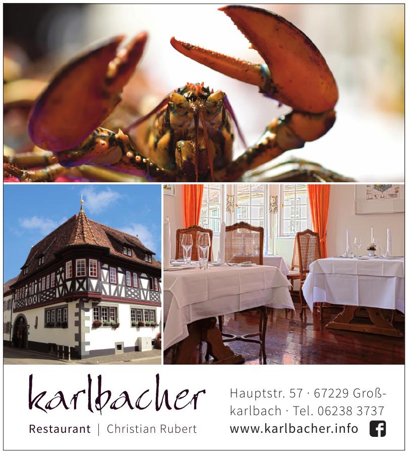 Karlbacher Restaurant