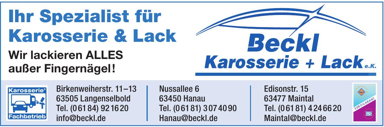 Beckl Karosserie + Lack e.K.