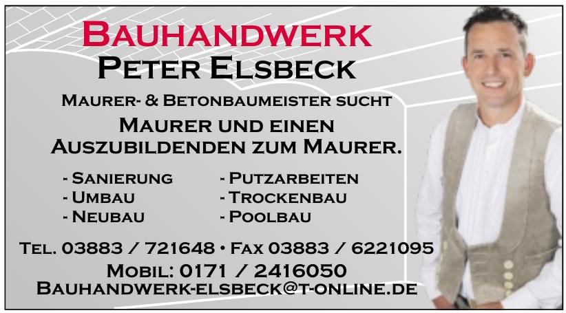 Bauhandwerk Peter Elsbeck