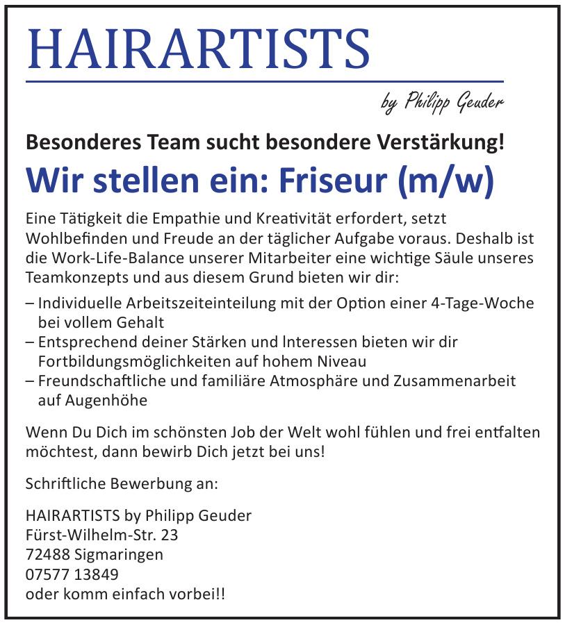 Hairartists by Philipp Geuder