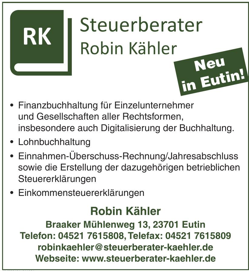Steuerberater Robin Kähler