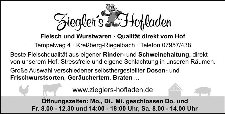 Ziegler´s Hofladen