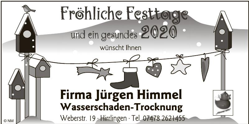 Firma Jürgen Himmel Wasserschaden-Trocknung