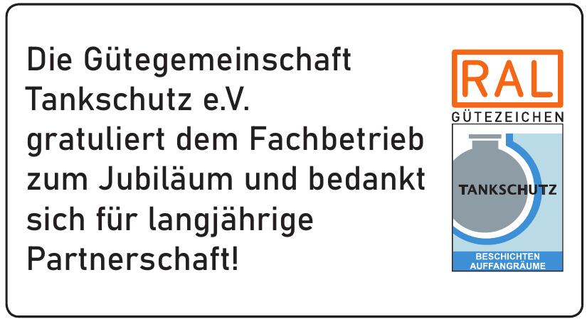 Gütegemeinschaft Tankschutz e.V