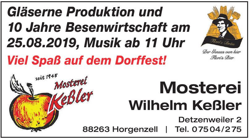 Mosterei Wilhelm Keßler