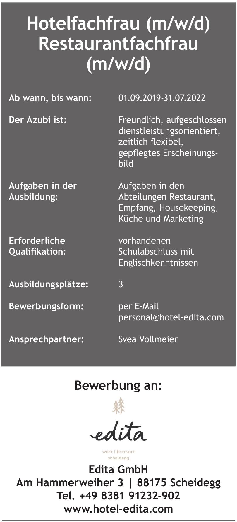 Edita GmbH