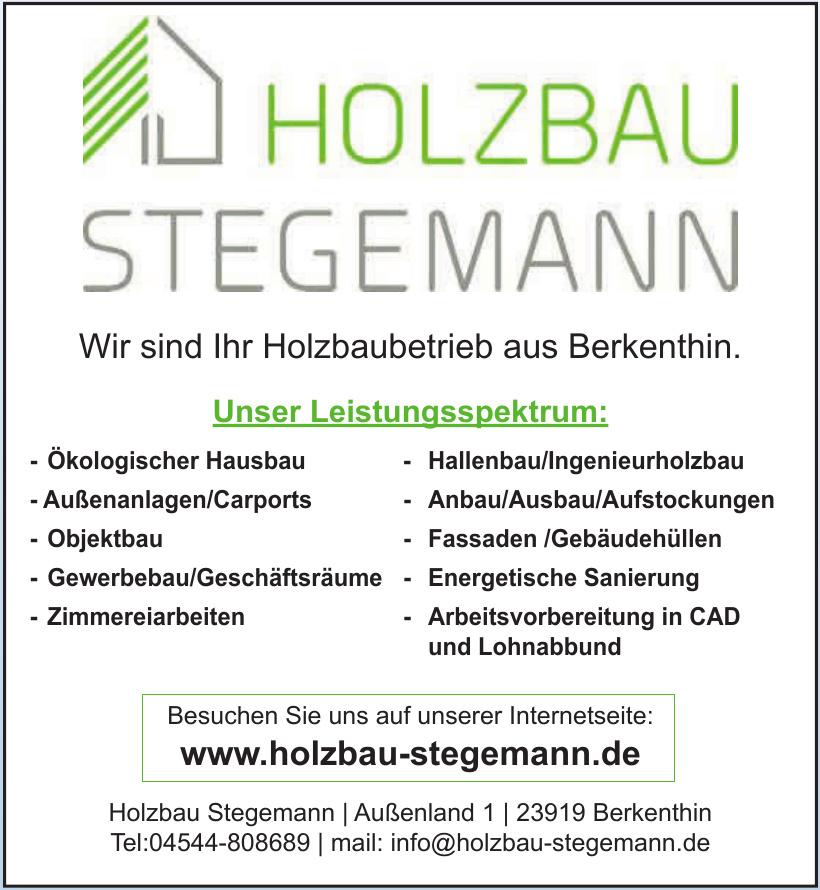 Holzbau Stegemann