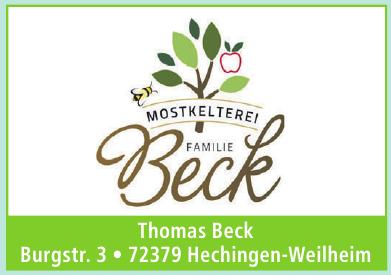 Thomas Beck