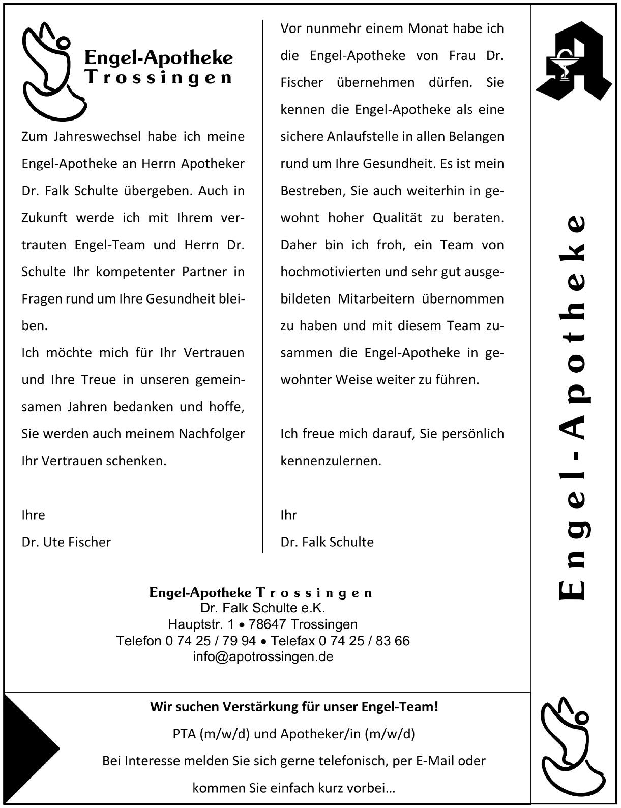 Engel-Apotheke Trossingen