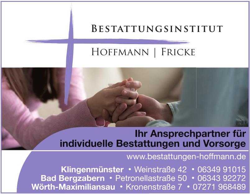 Bestattungsinstitut Hoffmann - Fricke