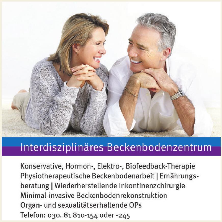 Interdisziplinäres Beckenbodenzentrum