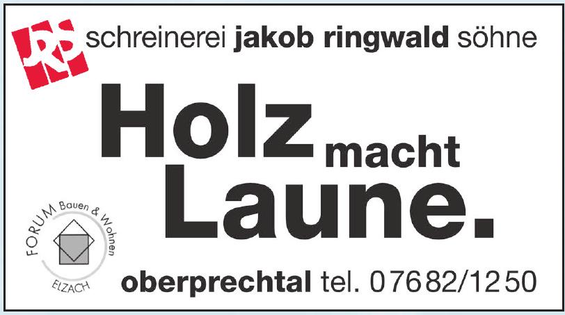 Schreinerei Jakob Ringwald Söhne