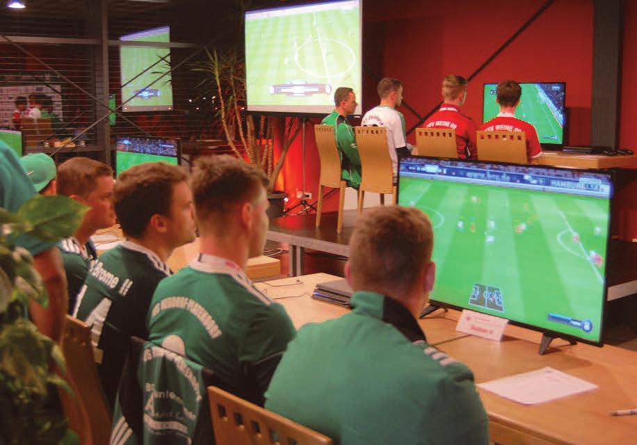 eFootball – das ist der virtuelle Fußball-Spaß an der Konsole. In den NFV-Kreisen Gifhorn und Wolfsburg werden nun die besten Spieler gesucht. FOTO: NFV-KREIS GIFHORN
