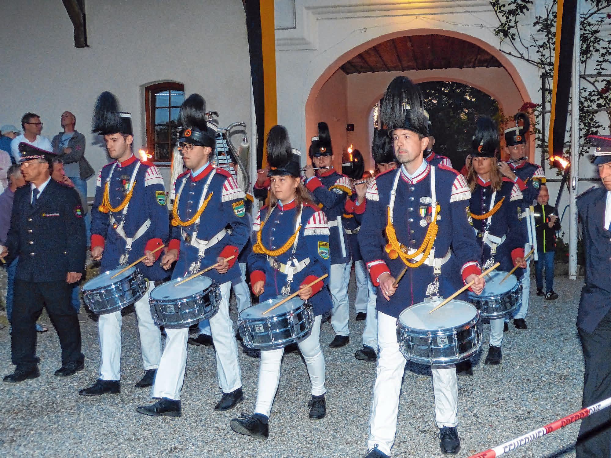 Die Historische Bürgerwehr. FOTO: PRIVAT