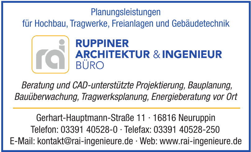 Ruppiner Architektur & Ingenieur Büro