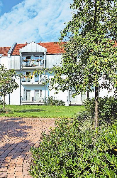 Die Senioren-Residenz Sankt Johannes in Schifferstadt.