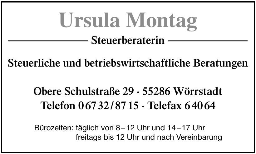 Ursula Montag Steuerberaterin