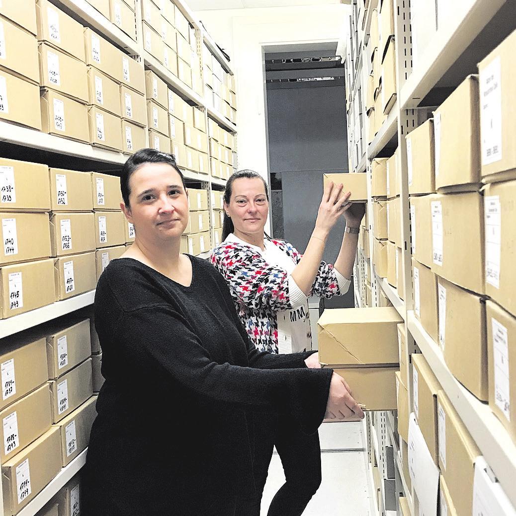 Die neue Leiterin Dominique Corinne Ott (links) und ihre Stellvertreterin Anja Ittrich. Foto: Landkreis Celle