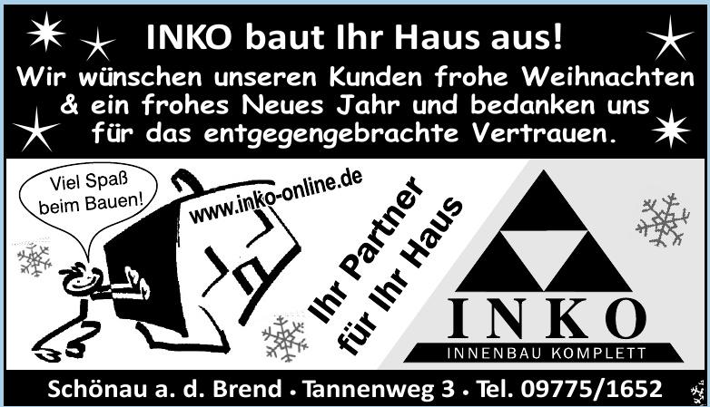 INKO - Innenbau Komplett