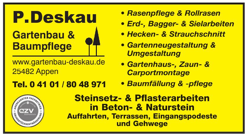 P.Deskau Gartenbau und Baumpflege