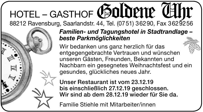 Hotel-Gasthof Goldene Uhr