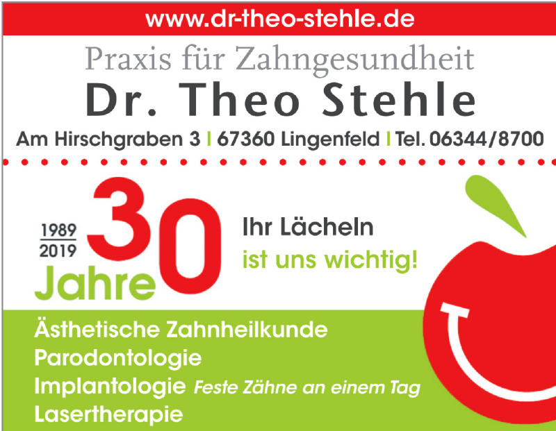 Dr. Theo Stehle