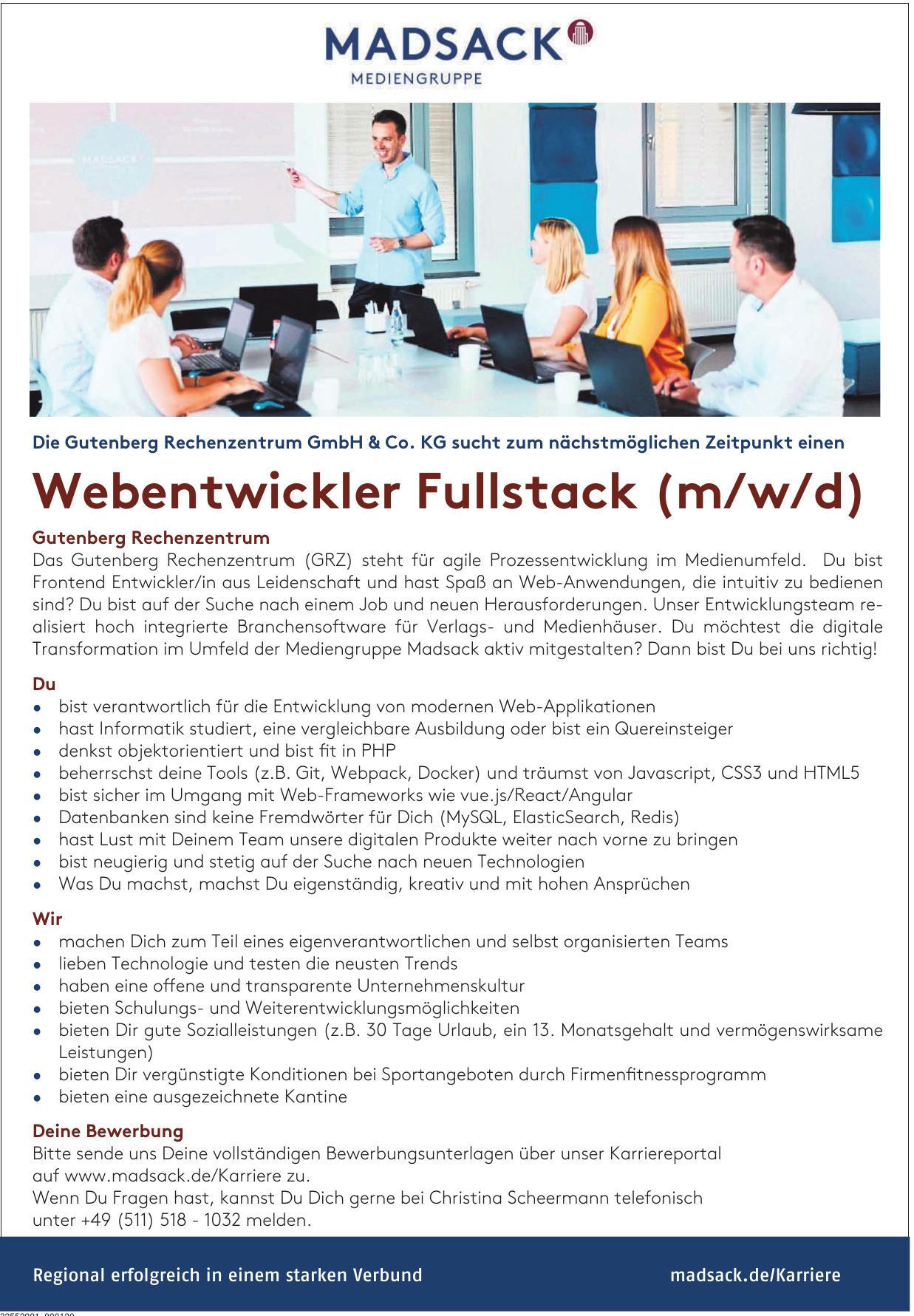 Gutenberg Rechenzentrum GmbH & Co. KG