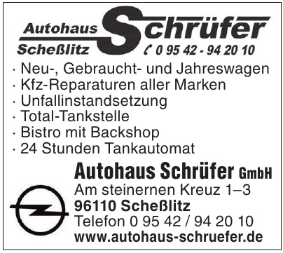 Autohaus Schrüfer GmbH