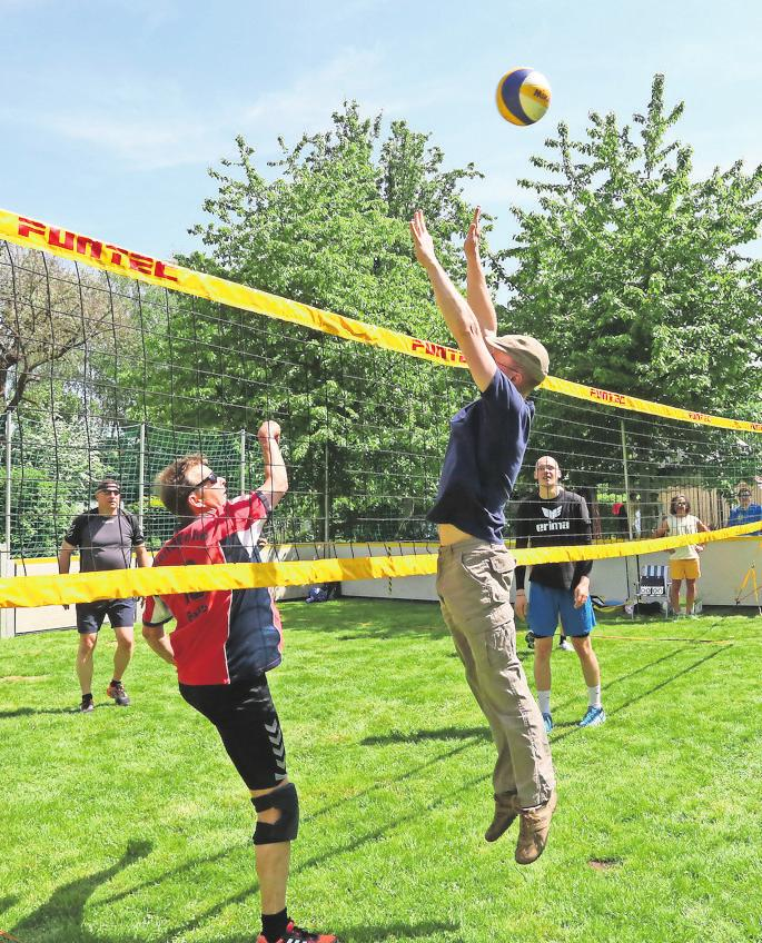 SPORTLICH geht es unter anderem auf dem Festanger beim zweiten Stadtsportfest zu.