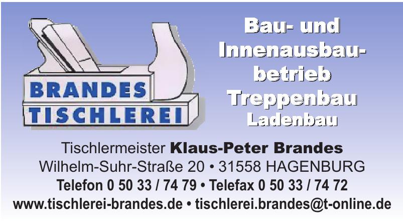 Tischlermeister Klaus-Peter Brandes