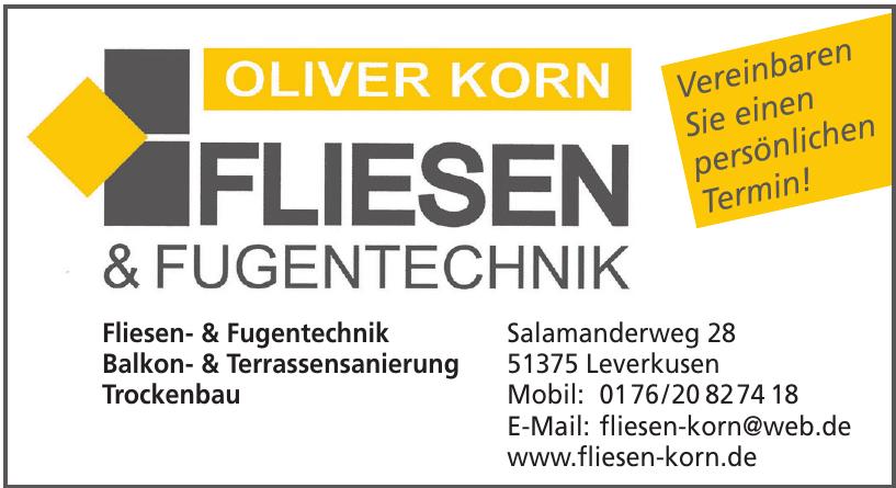 Oliver Korn Fugen & Fliesentechnik