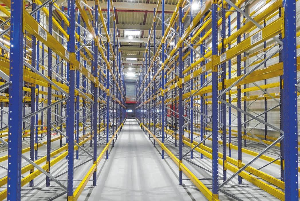 Der Neubau bzw. die Erweiterung schafft den nötigen Platz im Lager des Unternehmens. FOTOS:ROSE PLASTIC
