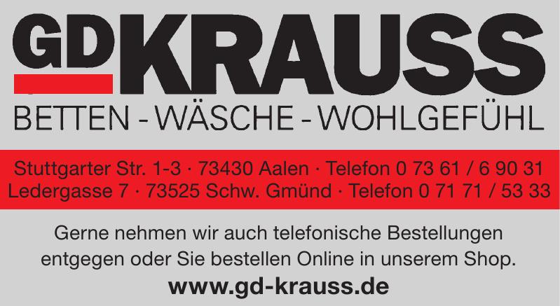 GD Krauss