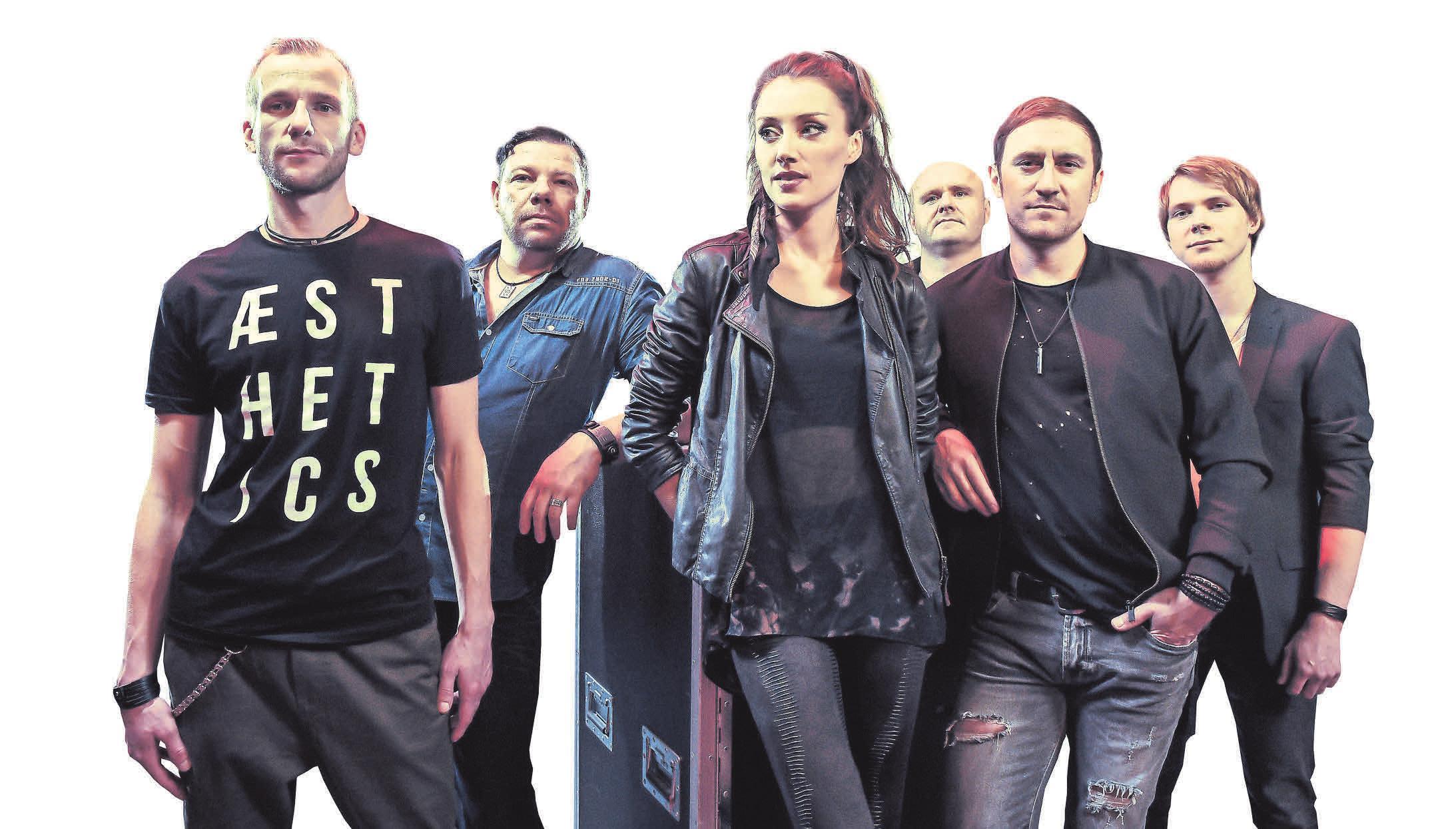 Die Oberhaveler Show- und Coverband Right Now spielt am Sonnabend ab 20 Uhr auf dem Birkenfest. FOTO: PROMO