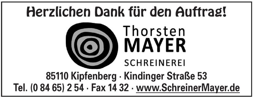 Thorsten Mayer Schreinerei