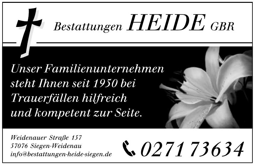 Bestattungen Heide GbR