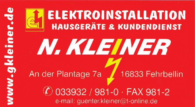 N. Kleiner Elektro