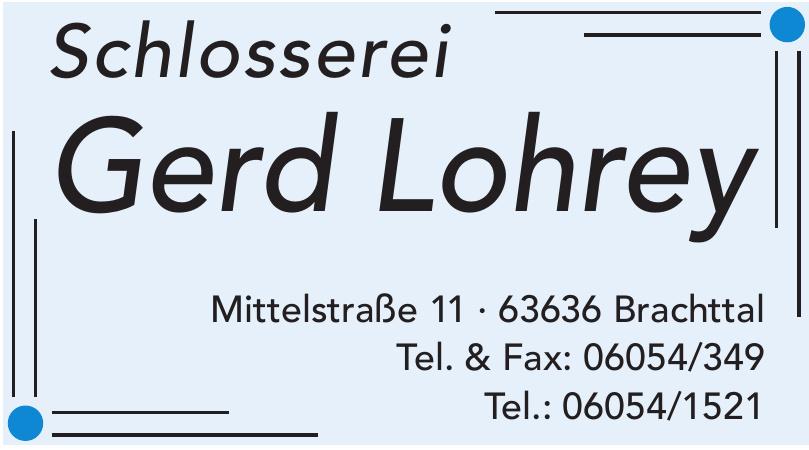 Schlosserei Gerd Lohrey