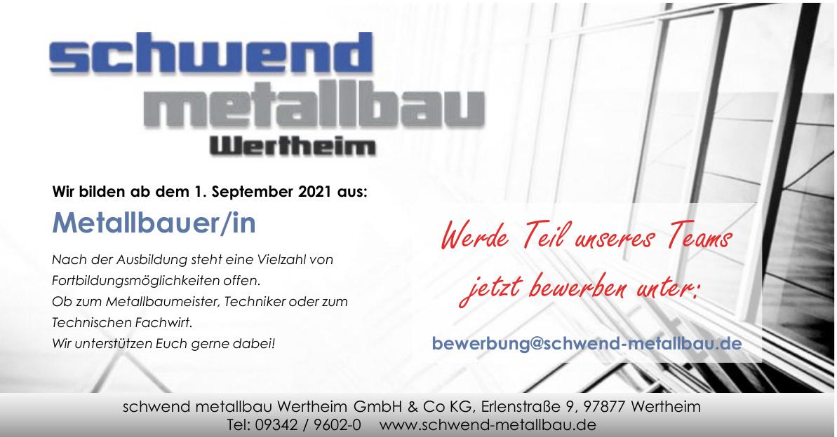 schwend metallbau Wertheim GmbH & Co KG