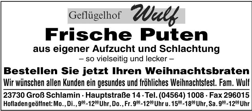 Geflügelhof Wulf