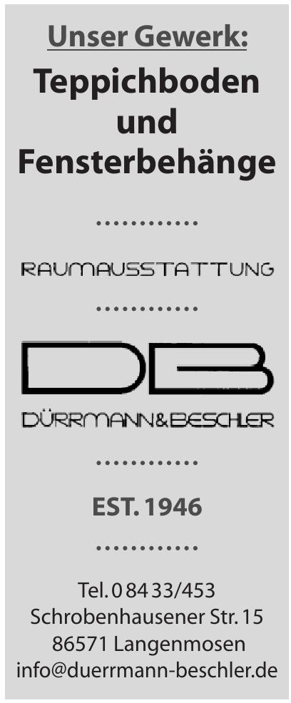 Raumausstattung Dürrmann & Beschler