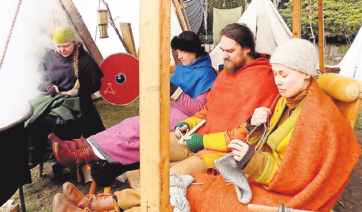 Auch mittelalterliche Handwerkstechniken werden zu sehen sein FOTO: BRIGITTE EINBRODT