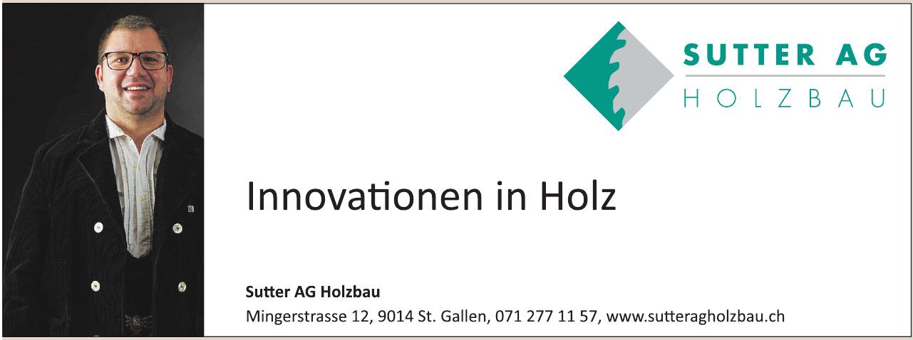 Sutter AG Holzbau