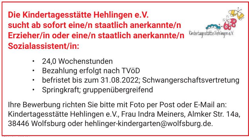 Kindertagesstätte Hehlingen e. V.