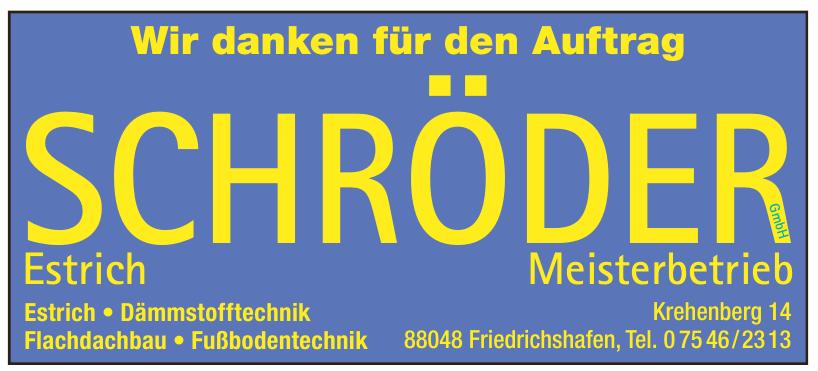 Schröder Estrich GmbH
