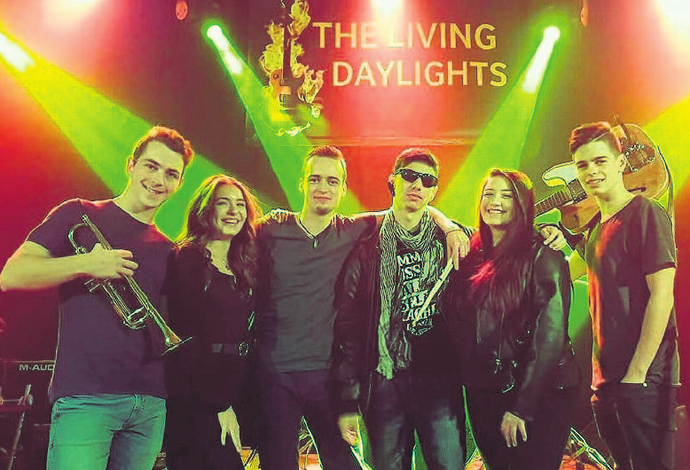 The Living Daylights rocken am Samstag den Markt.