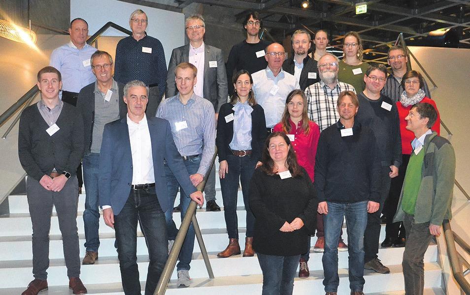 Die Teilnehmer der Koris-Fachtagung trafen sich im Phaeno.